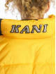 Karl Kani Prešívané bundy Bubble žltá