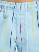 Karl Kani Short Signature Pinstripe bleu