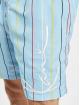 Karl Kani Shorts Signature Pinstripe blau