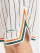 Karl Kani Shorts Small Signature Pinestripe Mesh hvid