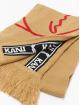 Karl Kani sjaal Signature Tape bruin