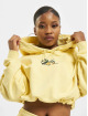 Karl Kani Sweat capuche Small Signature Crop jaune
