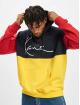 Karl Kani Sweat capuche Small Signature Block Teddy jaune