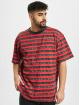 Karl Kani T-paidat Originals Stripe punainen