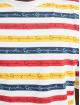 Karl Kani T-paidat Originals Stripe valkoinen