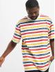 Karl Kani T-Shirt Originals Stripe blanc