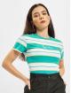 Karl Kani T-Shirt Small Signature Stripe blau