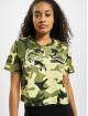 Karl Kani t-shirt Kk Signature Camo Crop Wide camouflage