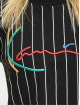 Karl Kani T-Shirt Signature Pinstripe noir