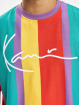 Karl Kani T-Shirt Kk Signature Stripe pourpre