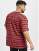 Karl Kani T-shirt Originals Stripe röd