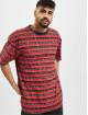 Karl Kani t-shirt Originals Stripe rood