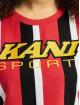 Karl Kani T-shirt Kk Sport Stripe Red rosso
