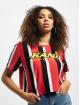 Karl Kani T-Shirt Kk Sport Stripe Red rouge