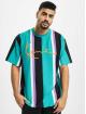 Karl Kani T-Shirt Kk Signature Stripe turquoise