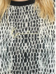 Karl Kani T-Shirt Small Signature Snake Oversize white