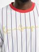 Karl Kani t-shirt Originals Pinstripe wit