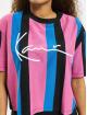 Karl Kani t-shirt Kk Signature Stripe zwart
