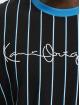 Karl Kani t-shirt Originals Pinstripe zwart