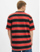 Karl Kani T-shirts Originals Stripe rød