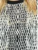 Karl Kani T-Shirty Small Signature Snake Oversize bialy