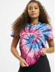 Karl Kani T-Shirty Kk Signature Tie Dye pink