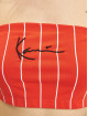 Karl Kani Top Small Signature Pinstripe rot
