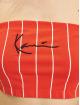 Karl Kani Tops Small Signature Pinstripe czerwony