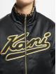 Karl Kani Veste mi-saison légère Varsity Reversible Leo Satin noir