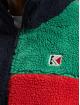 Karl Kani Veste mi-saison légère Signature Block Teddy rouge