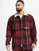 Karl Kani Veste mi-saison légère Signature Woolblend rouge