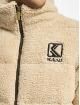 Karl Kani Zimní bundy Retro Teddy béžový