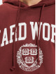 Keine Liebe Hoodie Hard Work red