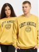 Keine Liebe Pullover Lost Angeles gelb