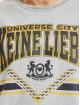Keine Liebe Pullover Universe City grau