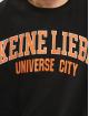 Keine Liebe Pullover Universe City schwarz