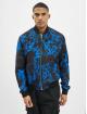 Les Hommes Куртка-бомбардир Classic синий