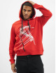 Les Hommes Hoody Graphic City rood