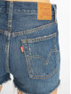 Levi's® Szorty 501 High Rise Silvern Lake indygo 4