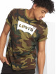 Levi's® T-Shirt Housemark Graphic Fill Camo green 0