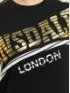 Lonsdale London Футболка Langrick черный