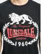 Lonsdale London T-Shirt Original 1960 schwarz