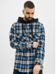 Marcelo Burlon Skjorta Monogram Check Hoody svart