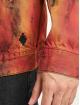 Marcelo Burlon Spijkerjasjes Bleach Flame Pleat zwart