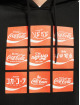 Merchcode Hoody Coca Cola International Logo schwarz