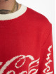 Merchcode Pullover Coca Cola Xmas rot