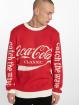 Merchcode Sweat & Pull Coca Cola Xmas rouge