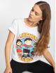 Merchcode T-shirt Ladies Justice League bianco 0