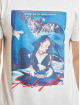 Merchcode T-Shirt Aaliyah One In A Million blanc