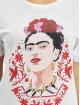 Merchcode T-Shirt Frida Kahlo Magic blanc
